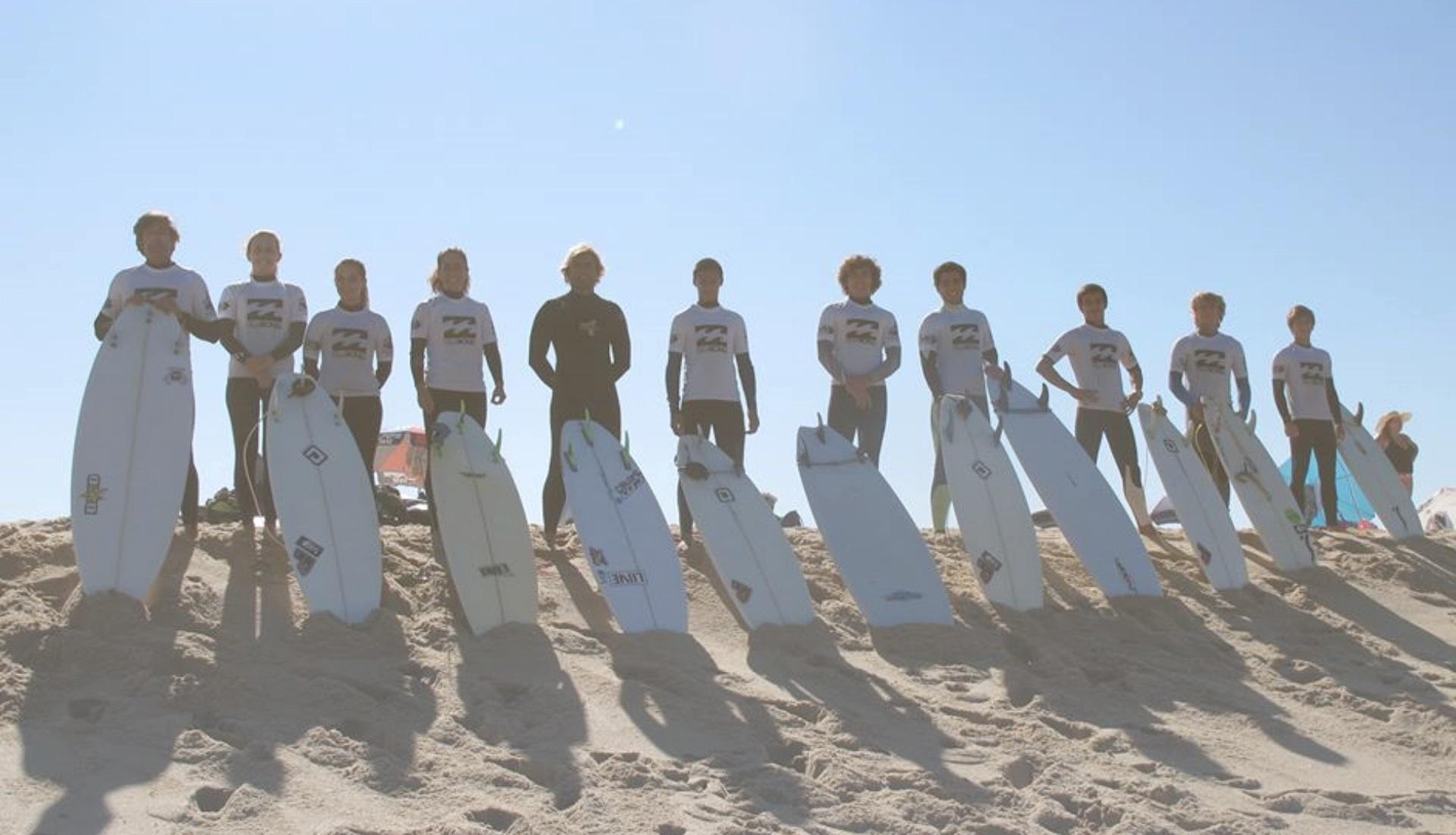 Junte-se à nossa Surf Academy!